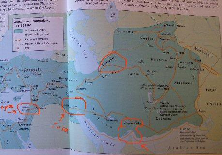 Alexander campaigns