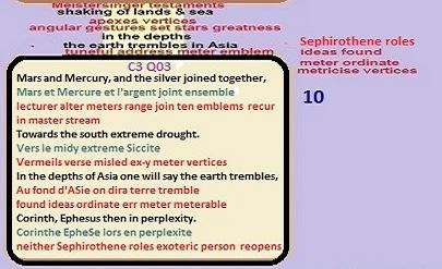 Nostradamus Prophecies C3 Q03 struck from sky