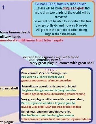Nostradamus C3 Q75 terror plague