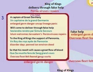 C9 Q90 Nostradamus King of Kings